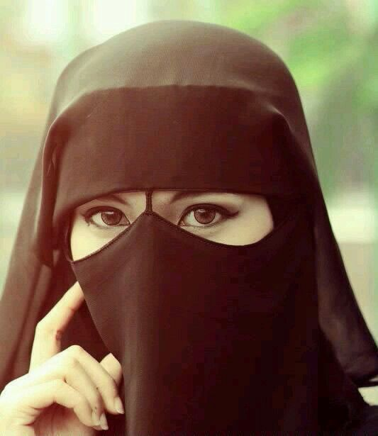 Pin By Esha Khan On Islamic Girls In 2019  Niqab -1212