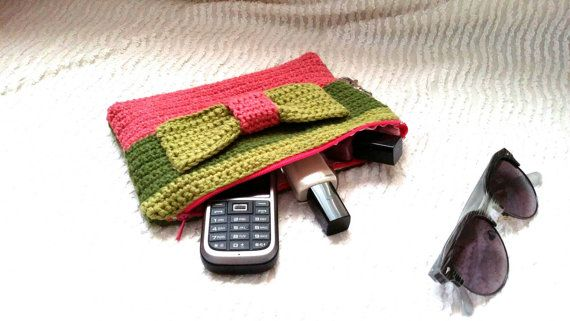 Check out this item in my Etsy shop https://www.etsy.com/listing/290242887/crochet-pouchwallet-key-chain