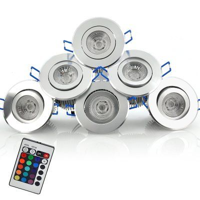 6 Color/Mode Changing LED Spotlight Set - Remote Controlled, 16 Different Color Tones http://www.chinavasion.com/china/wholesale/LED_Lights/Home_Garden_LED_Lights/6_Color_Changing_Spotlights_Set/