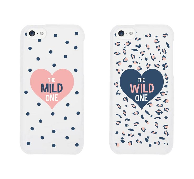 Best Friend Phone Cases - Cute Polka Dot and Leopard Print Phone Covers for iphone 4, iphone 5, iphone 5C, iphone 6, iphone 6 plus, Galaxy S3, Galaxy S4, Galaxy S5, HTC M8, LG G3: Cell Phones & Accessories