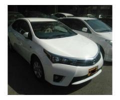 New Toyota Corolla Altis 2016 Model White color For Sale In Karachi