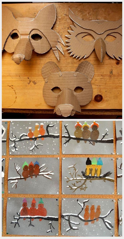 Simple Masks (Fox, Owl & Bear in 2020 Bear mask template