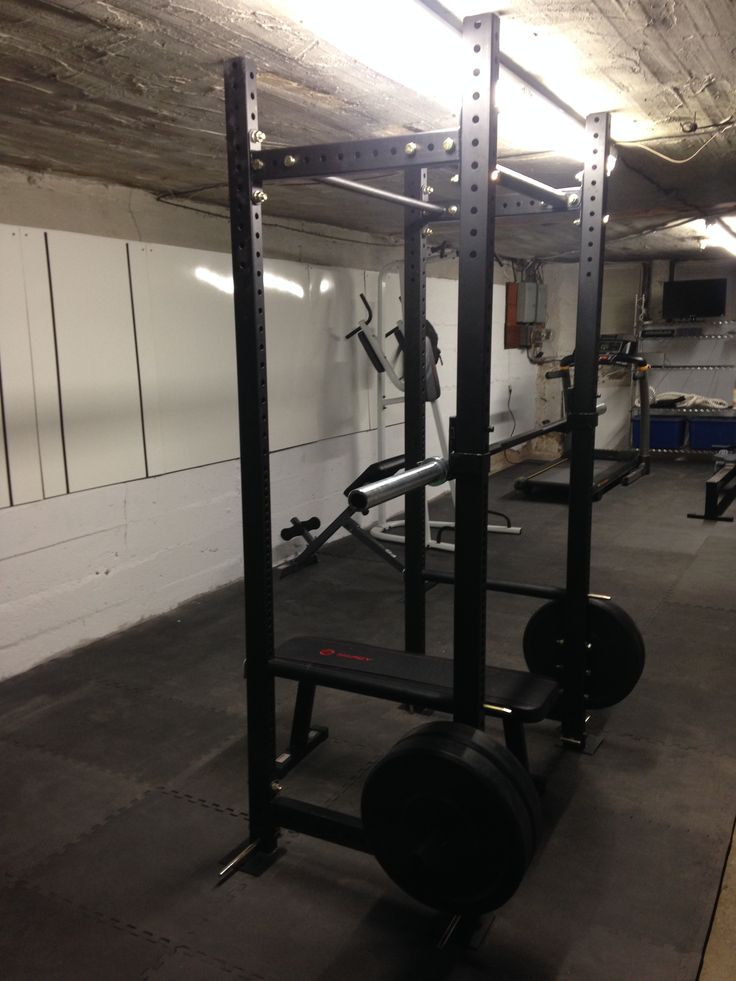 Installed a Power Rack for squats benching