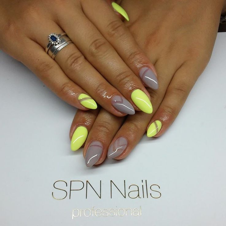 SPN UV LaQ 511 Nude, 624 Sour Lemon Nails by Alicja Koziołek, AliceNails, SPN Team