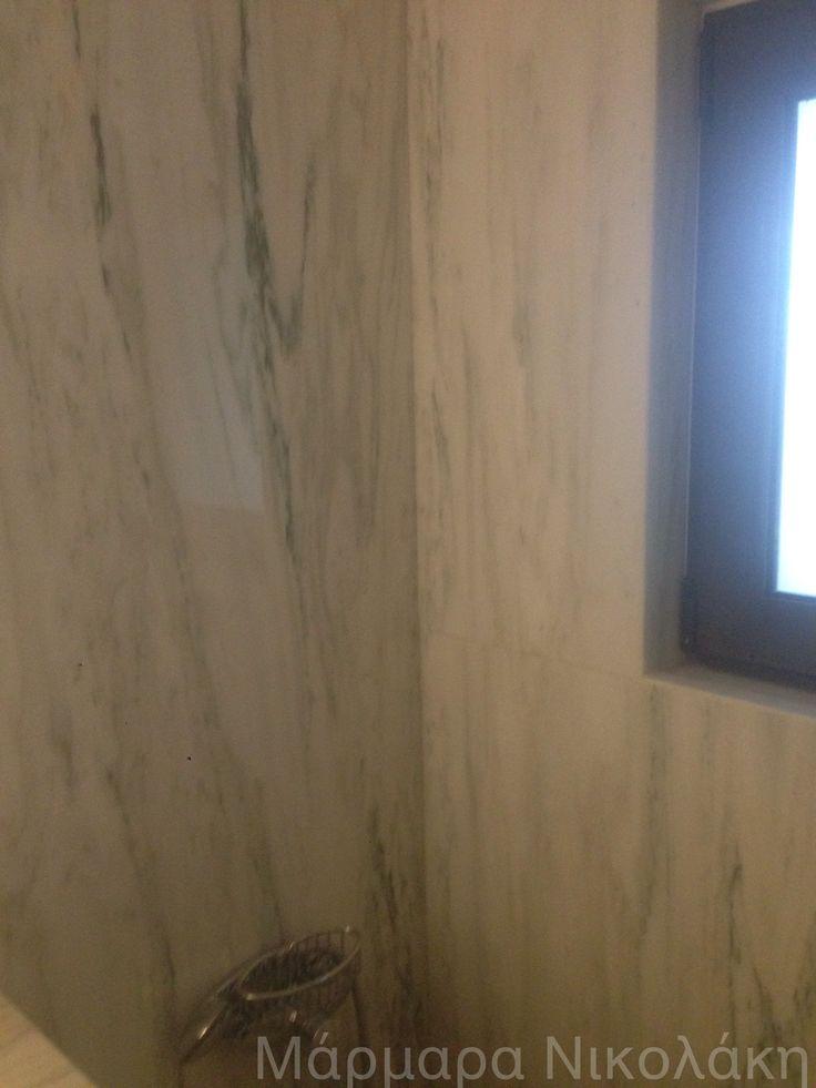 Greek marble Dionyssos (bathrooms - μπάνια - πολυτελείας - μαρμάρινα - luxury - μοντέρνα)