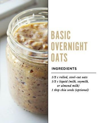 8 Over Night Oats Recipes: will use gluten-free oatmeal and other ingredients