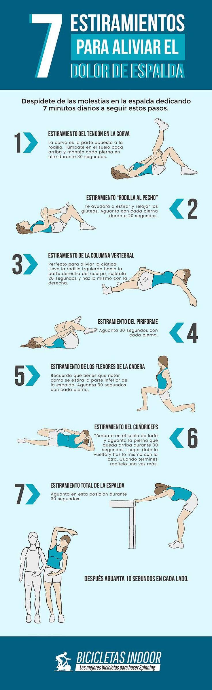 7 Estiramientos para aliviar el dolor de espalda