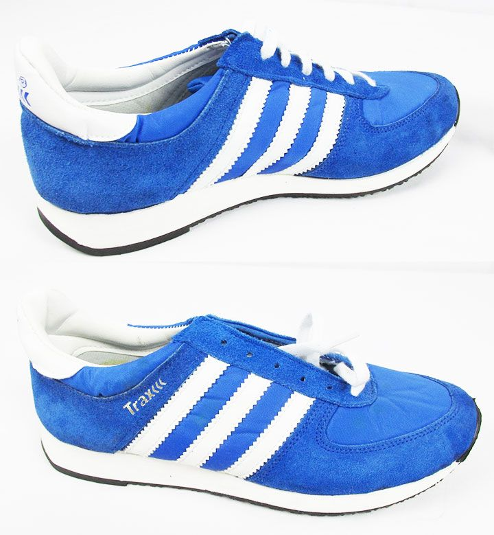 7a5e8c5f851 Old school vintage Trax 80s adidas style sneakers