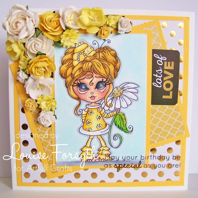 Louise Forsyth - Punknscrap KaiserCraft A touch of Gold Collection.