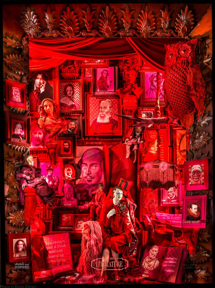 | 5th at 58th bergdorf goodman window 2014                      Needlepoint