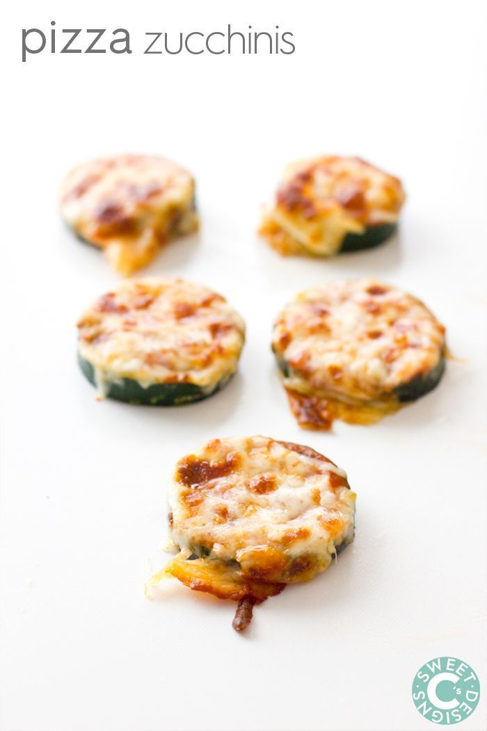 Pizza Zucchinis- quick easy and delicious gluten free mini pizzas that are full of flavor (and veggies!)