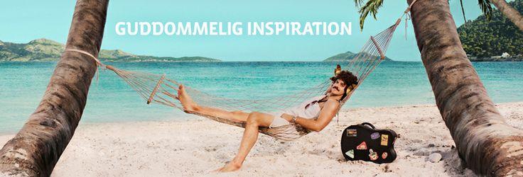 Står du og mangler inspiration til din næste ferie? Sig kig nærmere på http://www.apollorejser.dk/inspiration, hvor vi har samlet guddommelig inspiration til dig.