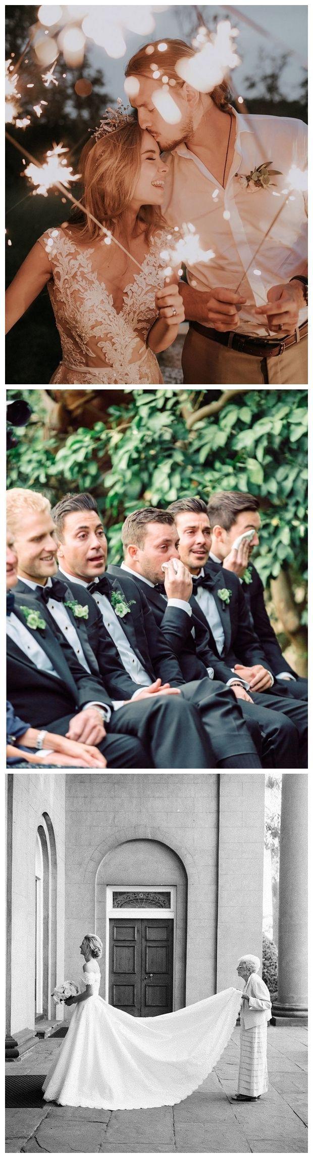 20 Must Have Wedding Photo Ideas You'll Love - Hochzeitsgeschenk