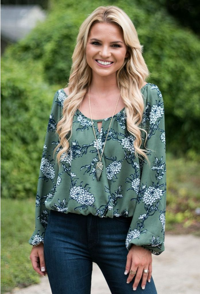 Amelia In Bloom Floral Blouse