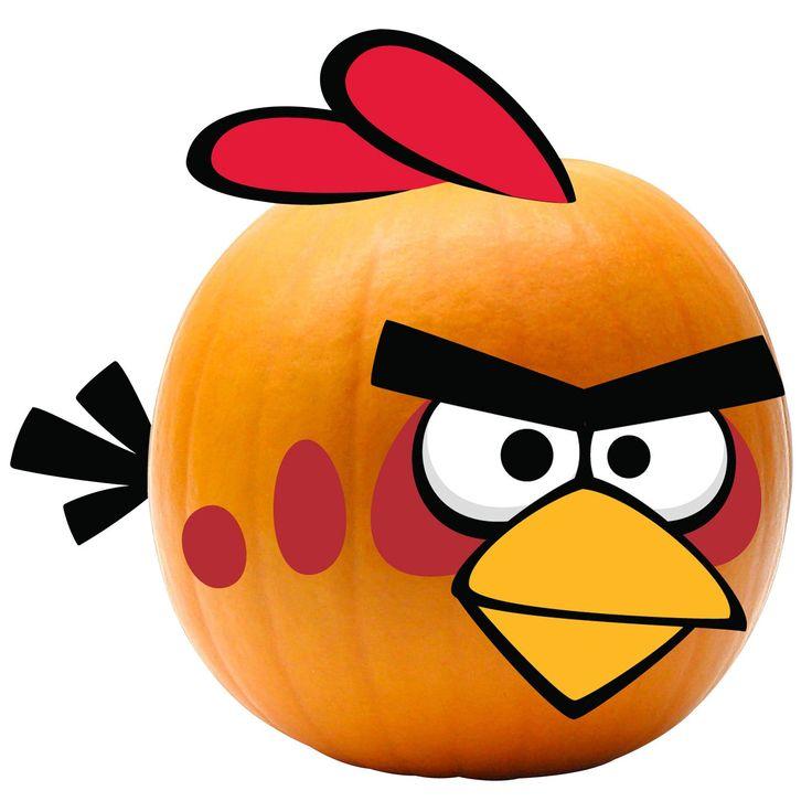 Rovio Angry Birds Red Bird Pumpkin Push Ins from BuyCostumes.com