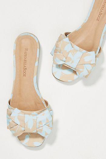 8a7b8cea104 Via Vela 14 Dalia Ruffled Slide Sandals