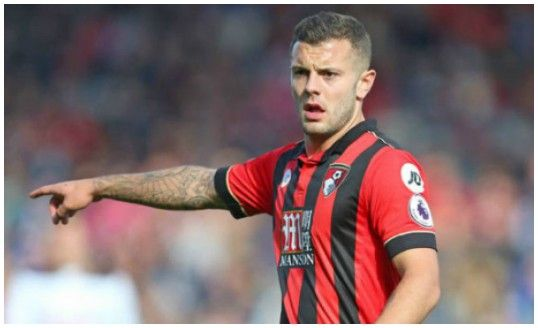 Eddie Howe claims that Jack Wilshere has transformed Bournemouth