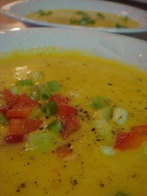 The Good House: buttercup squash soup