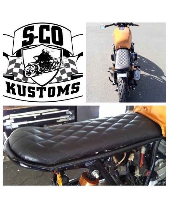 Brilliant Sco Kustom Black Diamond Stitch Motorcycle Seat Available In Andrewgaddart Wooden Chair Designs For Living Room Andrewgaddartcom