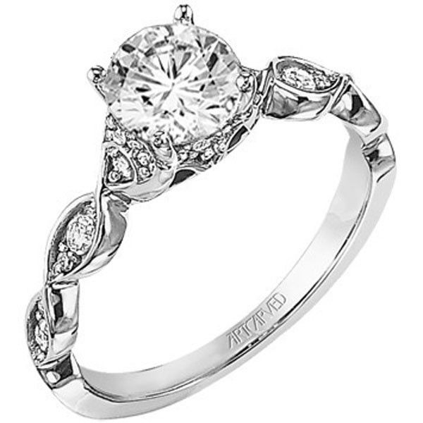 Superb Artcarved Annika Diamond Engagement Ring