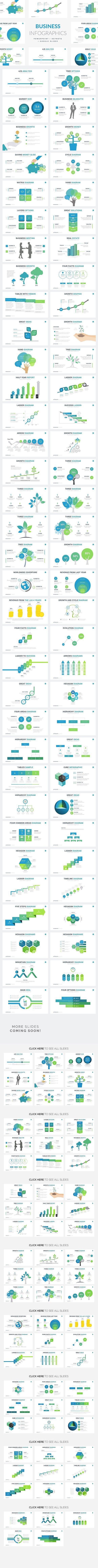 Business Infographics | PPT KEY GS. Presentation Templates
