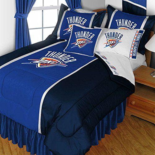 nba oklahoma city thunder twin bedding set basketball bed nba http