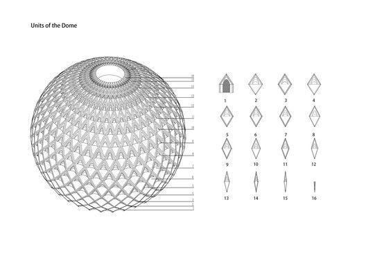 Da Chang Muslim Cultural Center,Diagram