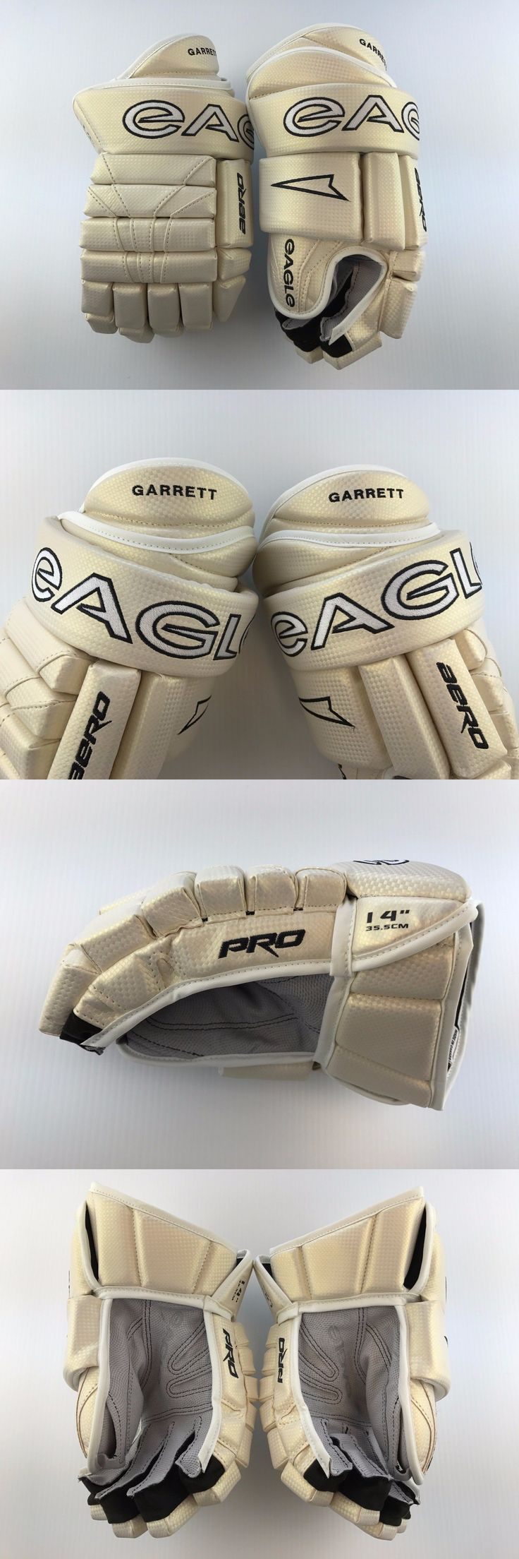Gloves 20853: New! Custom Full Carbon Eagle Aero Pro Hockey Player Gloves 14 Cream Flex Cuff! -> BUY IT NOW ONLY: $109 on eBay!