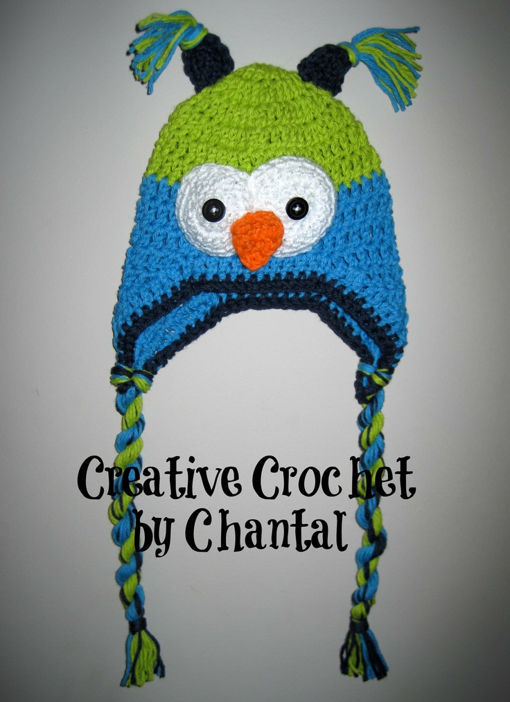 1 yr olds cotton owl hat