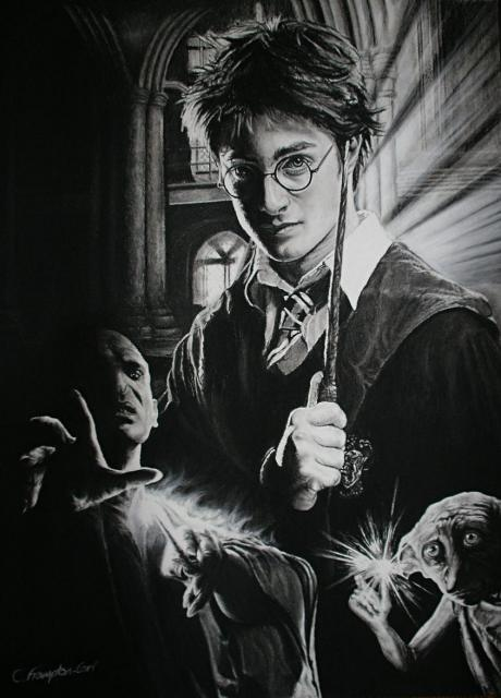 *Pencil Sketch - Harry Potter by Christian Frampton-Carr