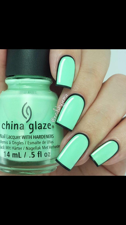 Mejores 34 imágenes de Nails en Pinterest | Arte de uñas, Ideas para ...