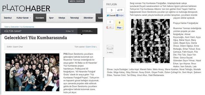 19 Mart 2012 tarihli Plato.com.tr  http://platohaber.com/index.php/4277-gelecekleri-yuz-kumbarasinda/