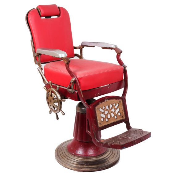 Vintage Indian Barber Chair