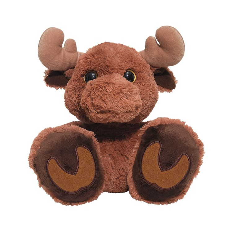 Plush moose makes a perfect holiday pal, $16.99. Off the Wall Cards and Gifts 703.415.0342