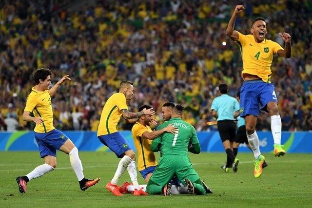 開催国ブラジルが悲願の五輪初優勝を果たした【Getty Images】