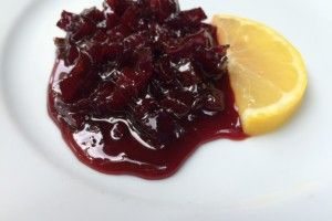 Beetroot ala cranberries