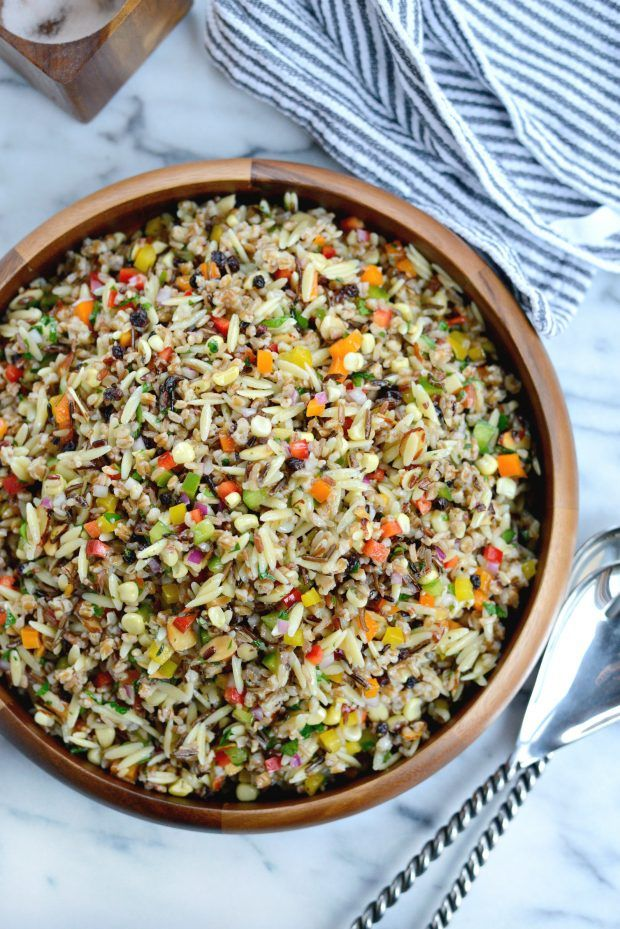 J. Alexander's Wild Rice and Orzo Salad l SimplyScratch.com (19)