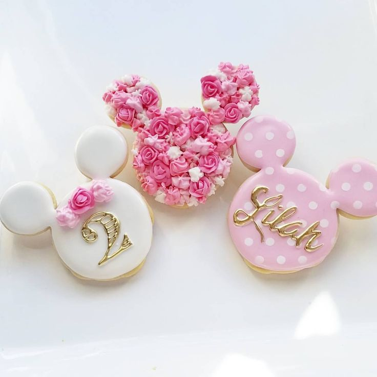 Minnie Mouse Cookies at Custom Cookies by Jill