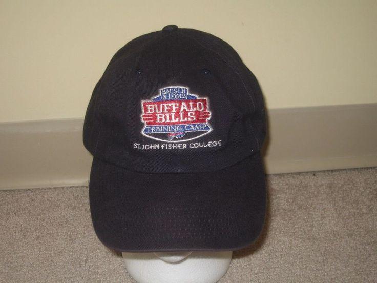 BUFFALO BILLS training camp adult OSFA baseball hat cap St John FIsher College  #Unbranded #BuffaloBills