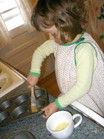 Mollie Katzen'd popover recipe (super simple, for kids actually).