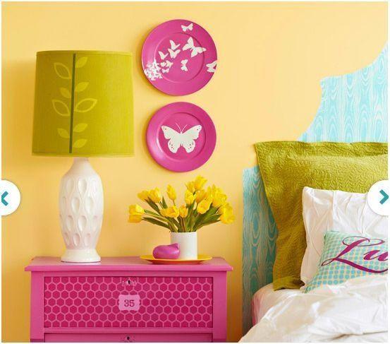 63 best decoracion de paredes con platos images on - Decoracion de platos ...