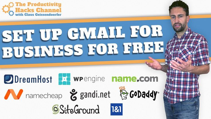 How To Set Up A Business Email Through Gmail For Free - WATCH VIDEO here -> http://makeextramoneyonline.org/how-to-set-up-a-business-email-through-gmail-for-free/ -    how to setup an internet business  This tutorial guides you on how to use your own business domain to send and receive professional emails using a free Gmail account. It shows how to setup the google mail client with your custom business domain and send out branded work emails from within...