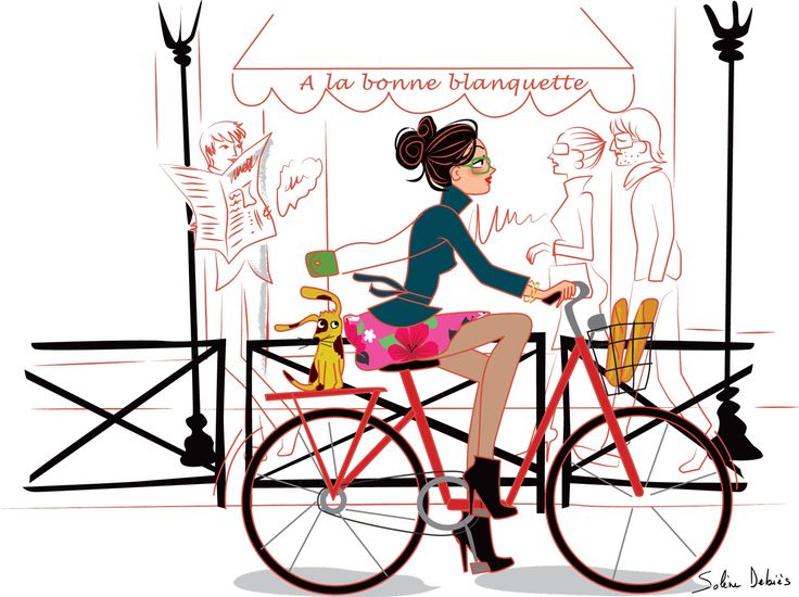 """illustration for the """"Love horoscope"""" BIBA magazine"""