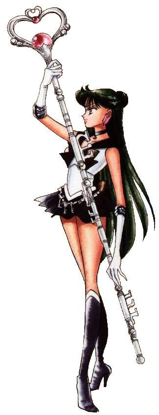 "Sailor Pluto- of all the senshi, I related to her the most. The only other character that means more to me in ""Sailor Moon"" is Usagi herself."