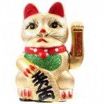 Maneki Neko Chat porte bonheur 21cm