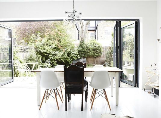 Love The Doors Find This Pin And More On Bifold Dining Room