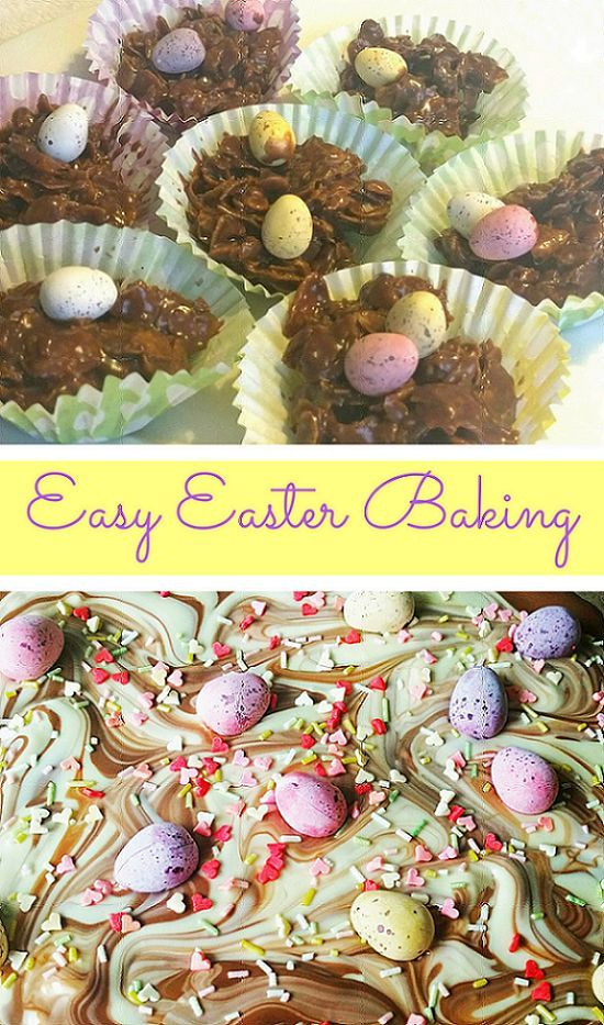 2 easy Easter baking ideas for kids | Baking for children | Easter Crafts | Easter Eggs | Baking with chocolate #eastercrafts #easter #baking #kidscrafts