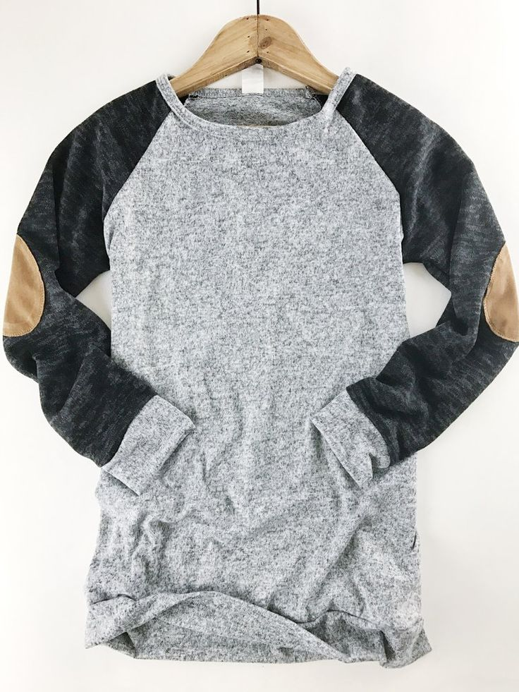 Two Tone Sweater Top