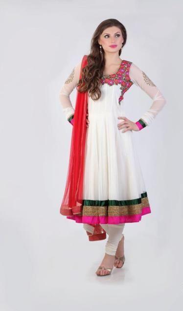 Latest Anarkali 2014 Salwar Kameez Designs. #pakistaniclothes, #designeranarkalisuits, #anarkalisalwarkameez, #salwarkameez, #pakistanisalwarkameez, #fashion