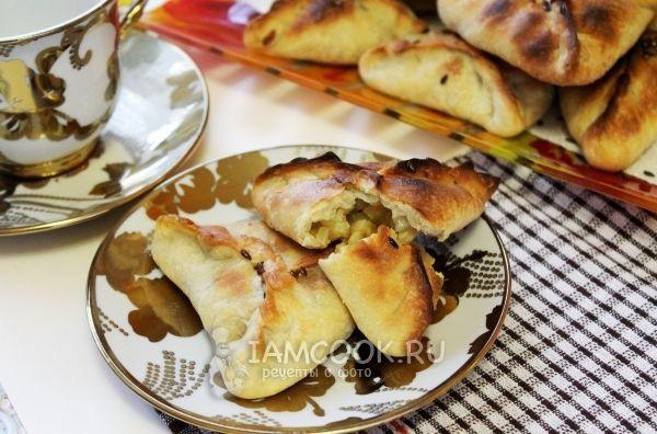 Фото самсы с мясом и картошкой